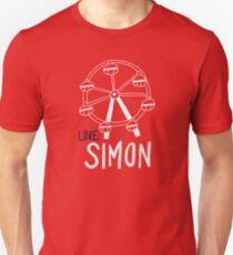Love, Simon Ferris wheel  Unisex T-Shirt