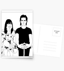 Nick and Susie Cave Postcards