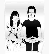 Nick and Susie Cave Poster