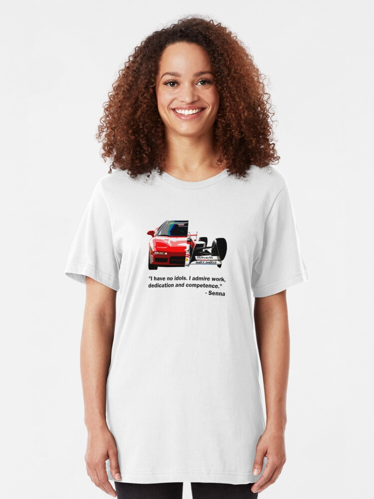 Alternate view of Shift Shirts Senna -  F1 Inspired Slim Fit T-Shirt