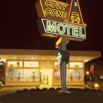 Cozy Cone Motel by leabostwick
