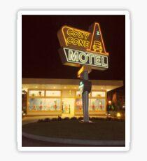 Cozy Cone Motel Sticker