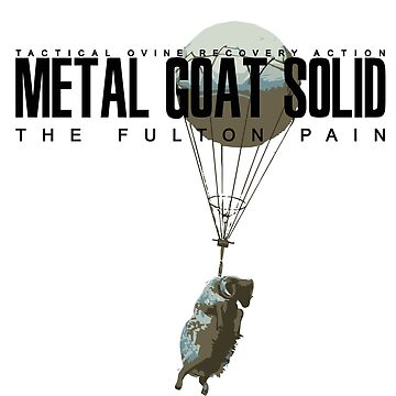 METAL GOAT SOLID - THE FULTON PAIN by wilhelmmontes