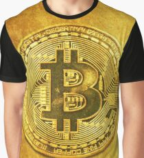 Bitcoin: Gold edition  Graphic T-Shirt