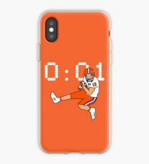 Clemson Game Winning Touchdown iPhone Case