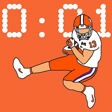 Clemson Game Winning Touchdown by FPrints