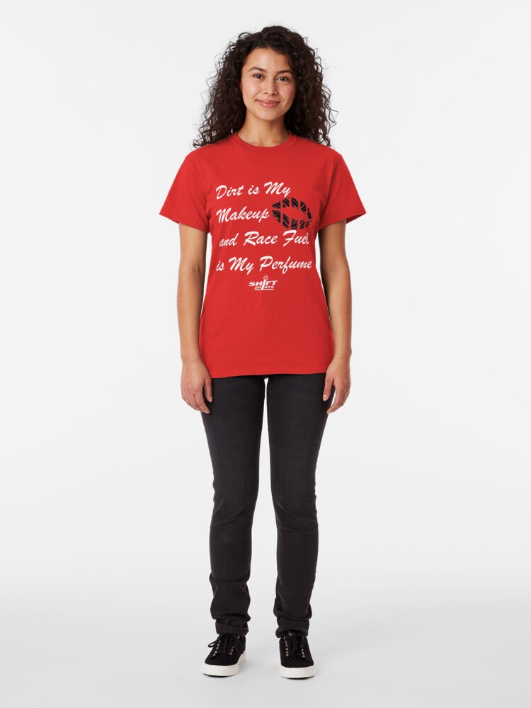Alternate view of Shift Shirts Race Perfume - Female Racer  Classic T-Shirt