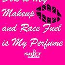 Shift Shirts Race Perfume - Female Racer  by ShiftShirts