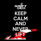 Shift Shirts Keep Calm Apex - HDPE and Race Driver by ShiftShirts