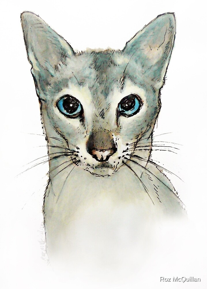 Barbara's Cat by Roz McQuillan
