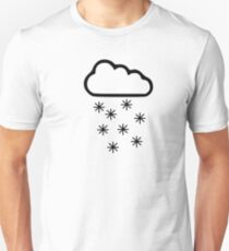 Clouds snow Unisex T-Shirt