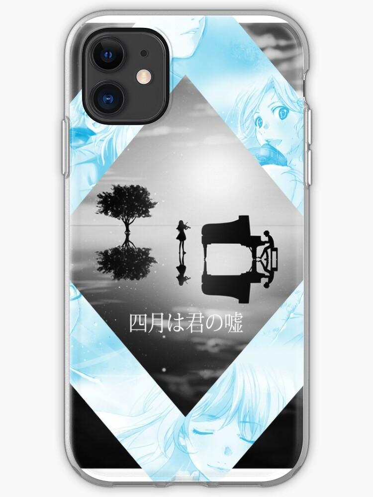 Shigatsu Wa Kimi No Uso Kousei X Kaori Wallpaper Iphone Case