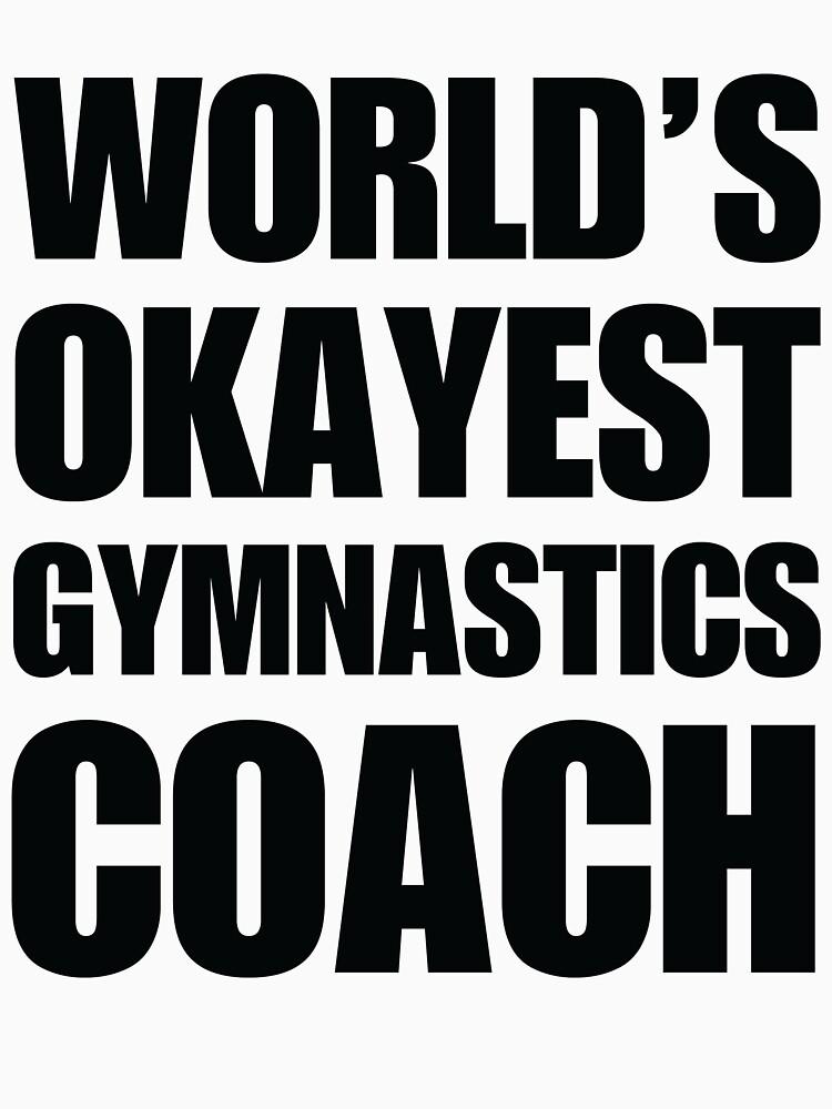 Funny World's Okayest Gymnastics Coach Coffee Mugs by christianadams