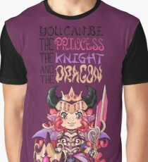 Dracoknight  princess Graphic T-Shirt
