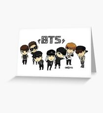 BTS - Bangtan Boys Greeting Card
