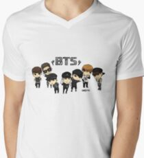 BTS - Bangtan Boys Men's V-Neck T-Shirt