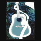 Blue Guitar by Magicat
