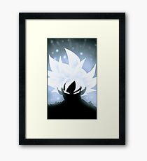 Sangoku White Instinct # 2 Dragon Ball Framed Print