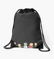 Minimalist Smith Family Drawstring Bag