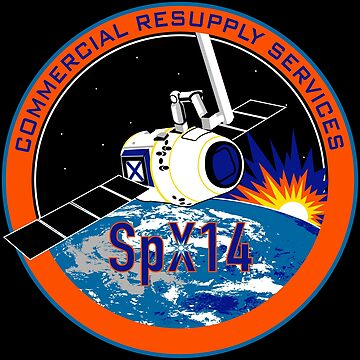 NASA/SpaceX Commercial Resupply Services CRS-14 (SpX-14) Mission Patch by bobbooo