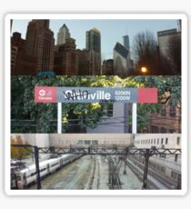 Whoville, Chicago Sticker