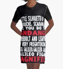 bohemian Rhapsody T-Shirt Kleid