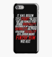 mortal kombat x  iPhone Case/Skin