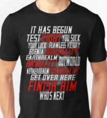 mortal kombat x  Unisex T-Shirt