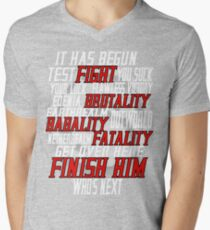 mortal kombat x  Mens V-Neck T-Shirt