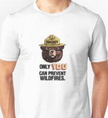Camiseta unisex Smokey The Bear
