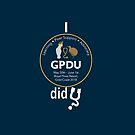 GPDU18 Mugs, notebooks and clothing (for dark background) by Paul Grinzi