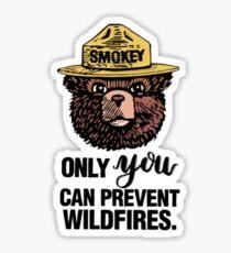Smokey 2 Sticker