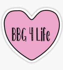 BBG 4 Life Sticker
