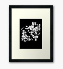 Child's Play - Footprints in Flour Framed Print