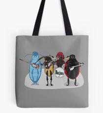 The Beetles Live Tote Bag
