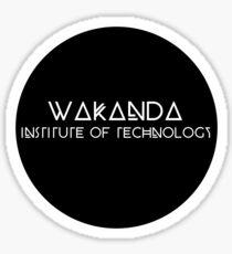 Wakanda Institute of Technology Sticker