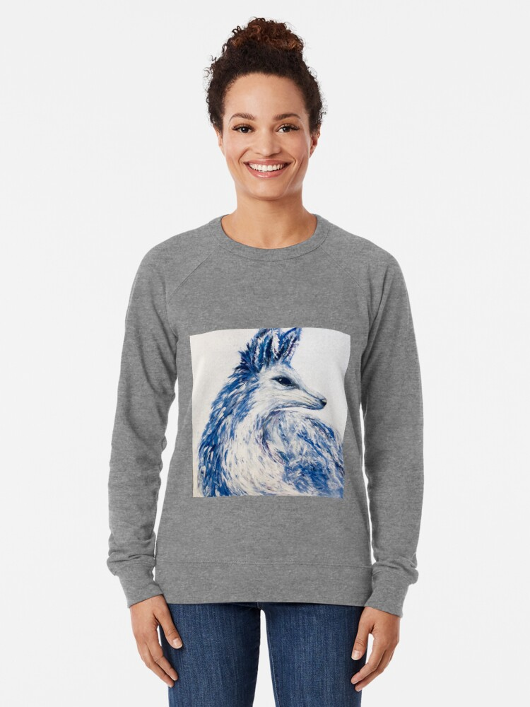 Alternate view of Inverted Arctic Fox Lightweight Sweatshirt