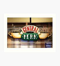 central perk cafe Art Print