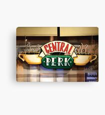central perk cafe Canvas Print