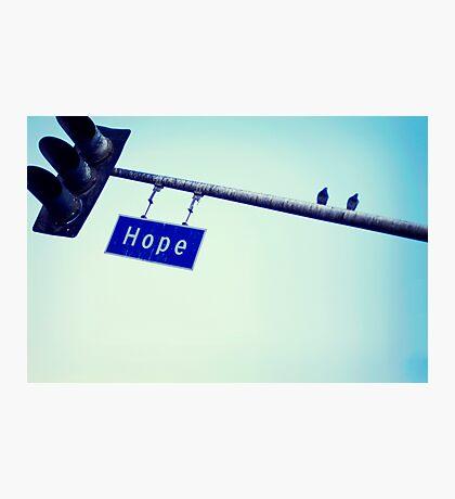 Hope. Photographic Print