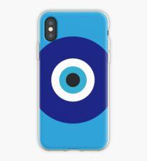 Blauer Augenschutz iPhone-Hülle & Cover
