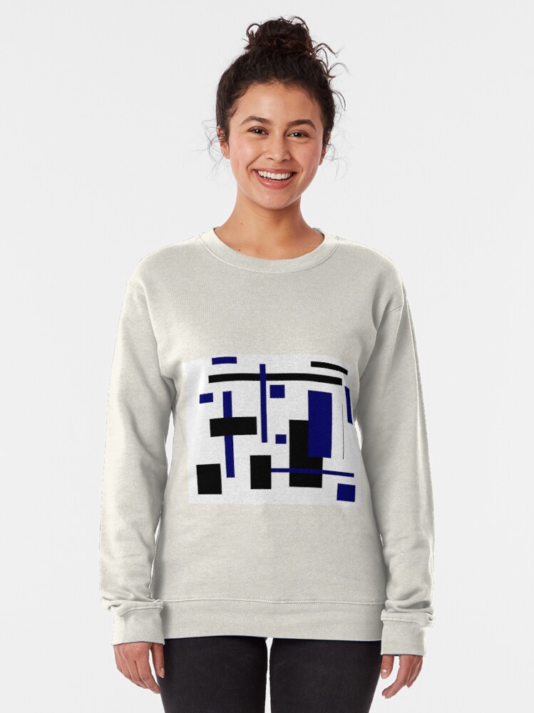 Alternate view of Rectangular Pattern 4  Pullover Sweatshirt