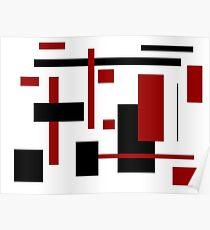 Rectangular Pattern 1  Poster