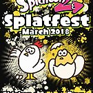 Splatfest 2 Team Chicken vs Egg by KumoriDragon