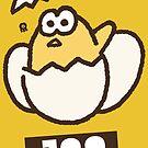 Splatfest 2 Team Egg v.1 by KumoriDragon