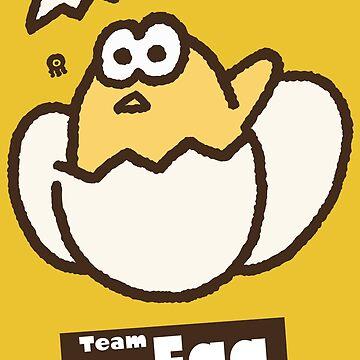 Splatfest 2 Team Egg v.2 by KumoriDragon