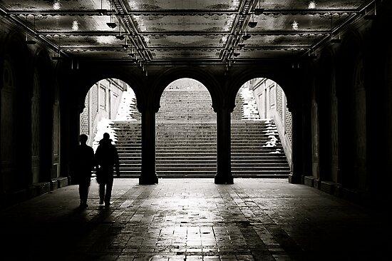 Bethesda Terrace, Central Park, New York City by Jeff Blanchard