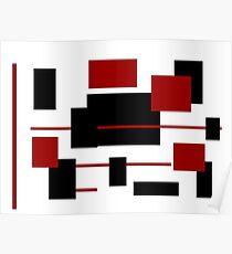Rectangular Pattern 3  Poster