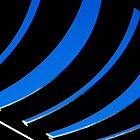 Abstract in Blue by TeAnne