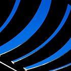 Abstract in Blue von TeAnne